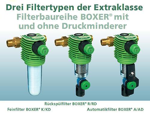 Filtertypen